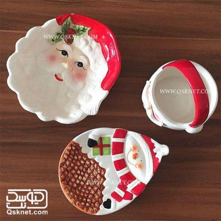 ظروف کریسمسی با طرح برجسته