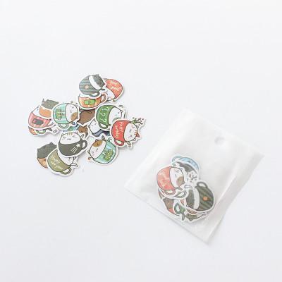 ست استیک لیبل های کاغذی