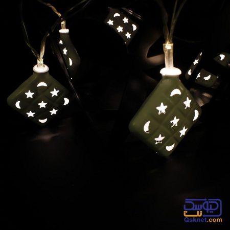ریسه LED یک متری طرح ستاره و ماه