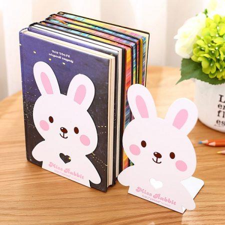نگهدارنده فلزی کتاب دلی مدل 95422 طرح خرگوش