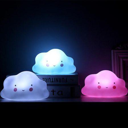 چراغ خواب LED فانتزی طرح ابر