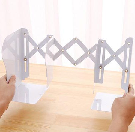 نگهدارنده فلزی کتاب آکاردئونی طرح یونیکورن