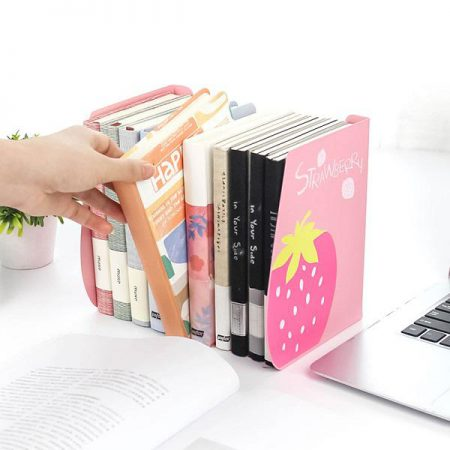 نگهدارنده فلزی کتاب آکاردئونی طرح توت فرنگی و هندوانه