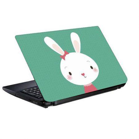 اسکین و برچسب پشت لپ تاپ طرح خرگوش