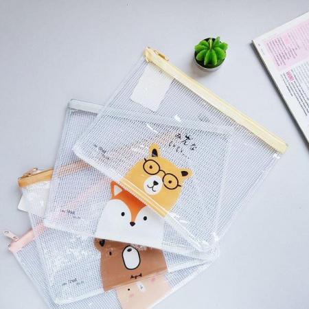 کاور پلاستیکی زیپ دار طرح حیوانات