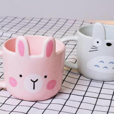 ماگ سرامیکی طرح خرگوش و توتورو