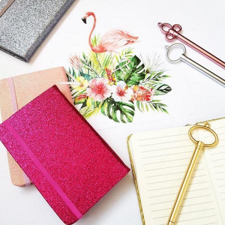 دفتر و دفترچه خط دار با جلد اکلیلی