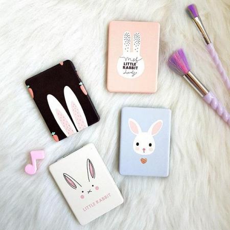 آینه کوچک کیفی طرح خرگوش