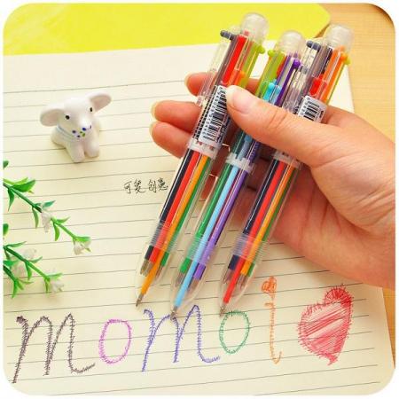 خودکار فشاری 6 رنگ Momoi