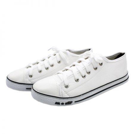 کفش برزنتی ALL STAR سفید