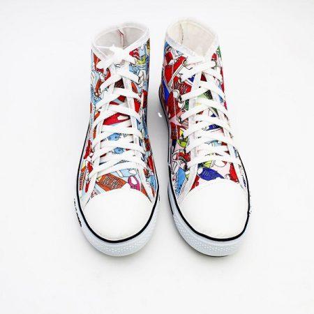 کفش آل استار ساقدار طرح کفش