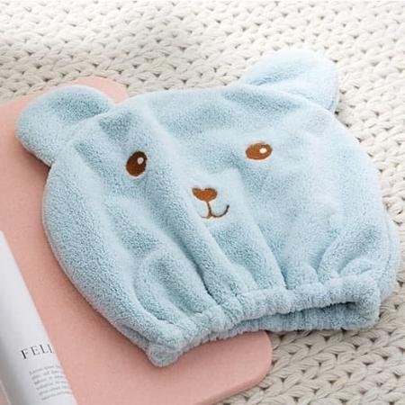 کلاه حمام طرح خرس