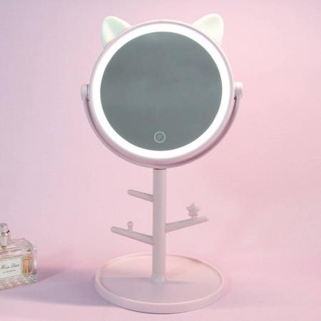 آیینه ال ای دی طرح گربه