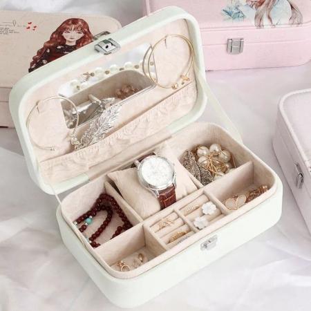 جعبه جواهرات طرح دختر (سایز بزرگ)