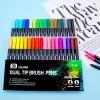 ماژیک و روان نویس حرفه ای دوسر 36 رنگ