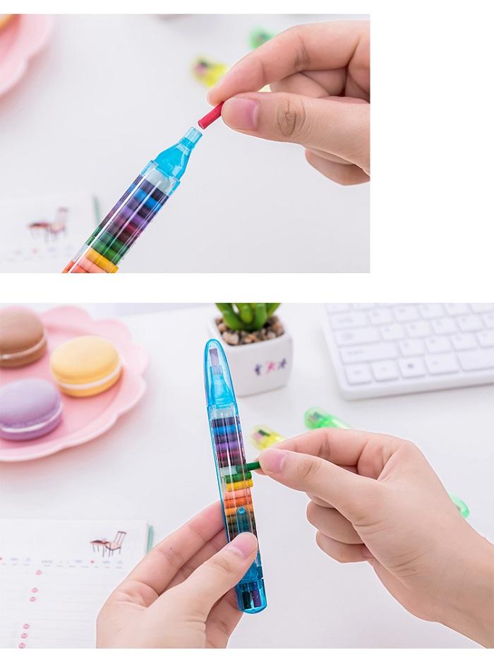 مداد شعمی 20 رنگ