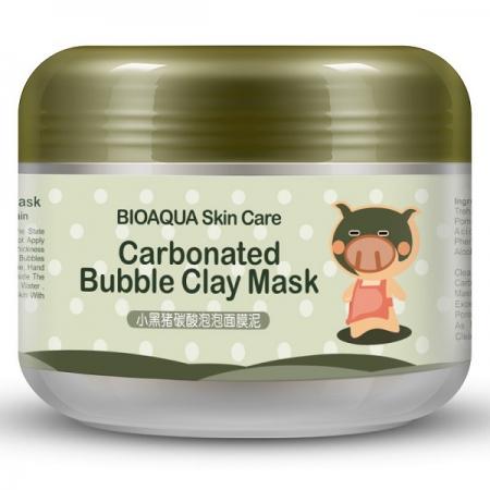 ماسک صورت بایو آکوا مدل Carbonated Bubble حجم 100 میلی لیتر (1)