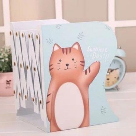 نگهدارنده فلزی کتاب آکاردئونی طرح حیوانات