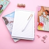 دفتر سیمی A5 جلد محکم طرح دختر