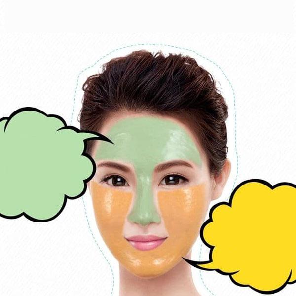 ماسک صورت دو رنگ بیوآکوا مدل Ban Bang