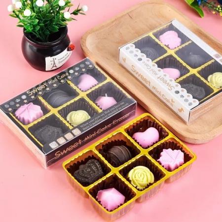 پاکن فانتزی 6 عددی طرح شکلات کادویی