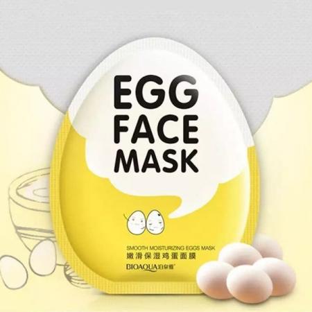 ماسک ورقه ای تخم مرغ بیو اکو